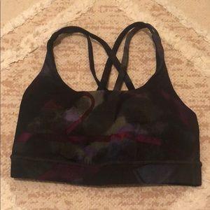 Criss cross back lululemon sports bra